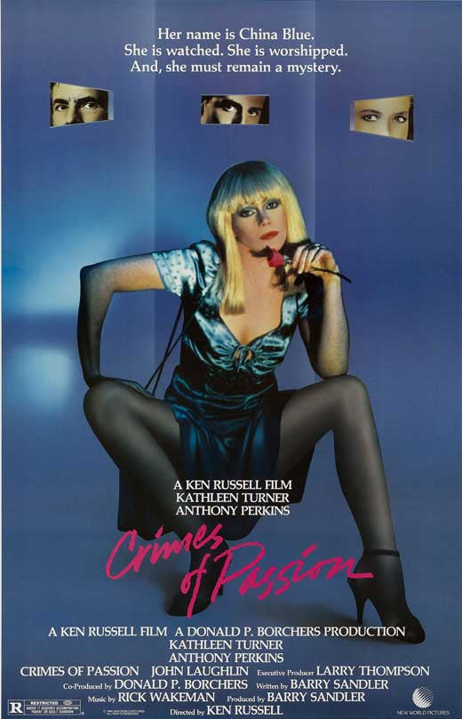 Crimes Of Passion (1984) - Kathleen Turner  UNCUT DVD