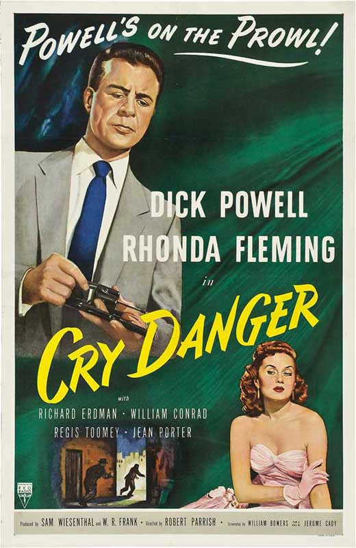 Cry Danger (1951) - Dick Powell  DVD