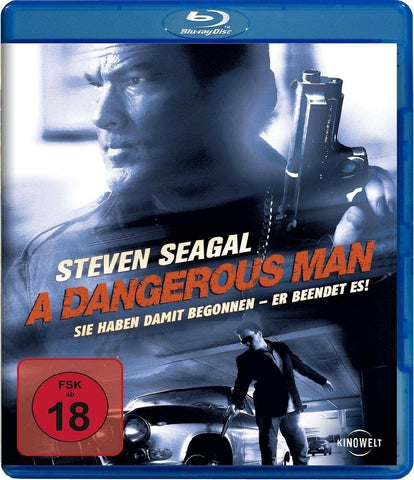 A Dangerous Man (2009) - Steven Seagal  Blu-ray