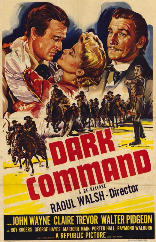 Dark Command (1940) - John Wayne  DVD