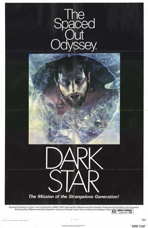 Dark Star (1974) - John Carpenter DVD