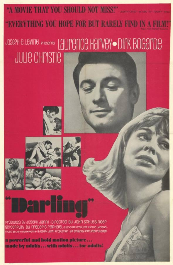 Darling (1965) - Julie Christie  DVD