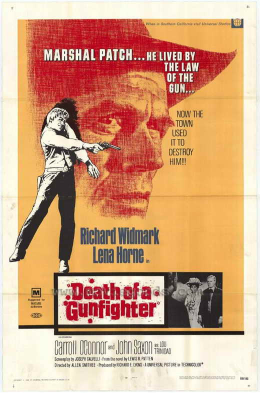 Death Of A Gunfighter (1969) - Richard Widmark  DVD