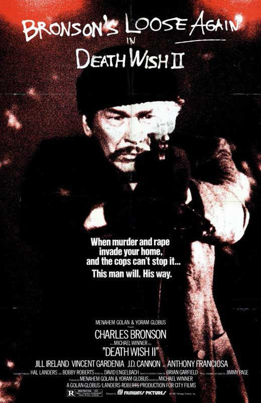 Death Wish 2 (1982) - Charles Bronson DVD