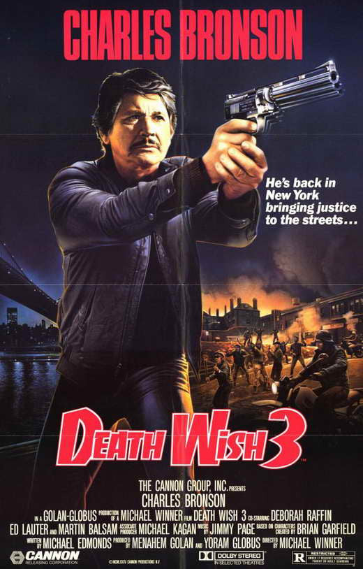 Death Wish 3 (1985) - Charles Bronson DVD
