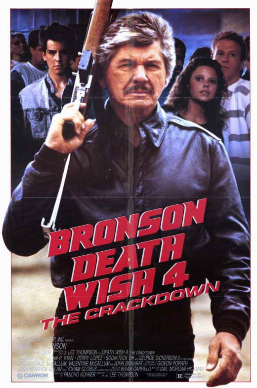Death Wish 4 : The Crackdown (1987)  DVD