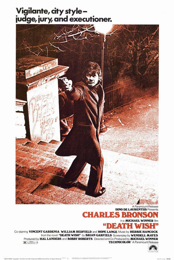 Death Wish (1974) - Charles Bronson  DVD