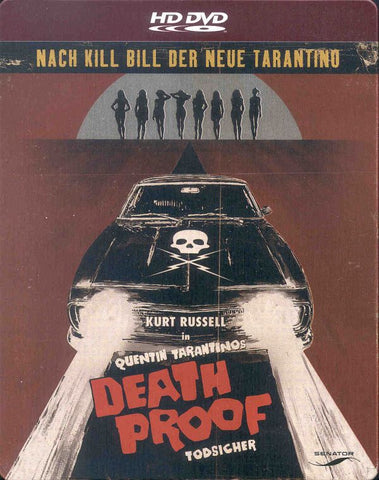 Death Proof (2007) - Kurt Russell Steelbook  HD DVD