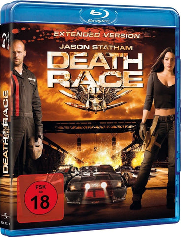 Death Race : Extended Version (2008) - Jason Statham  Blu-ray