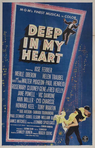 Deep In My Heart (1954) - Jose Ferrer  DVD