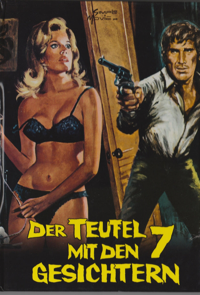 The Devil Has 7 Faces (1972) Giallo UNCUT DVD