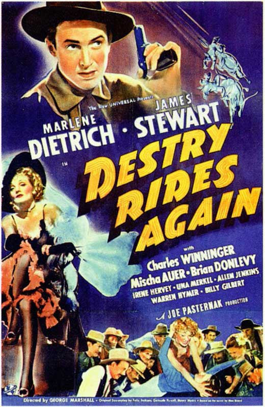 Destry Rides Again (1939) - James Stewart  DVD