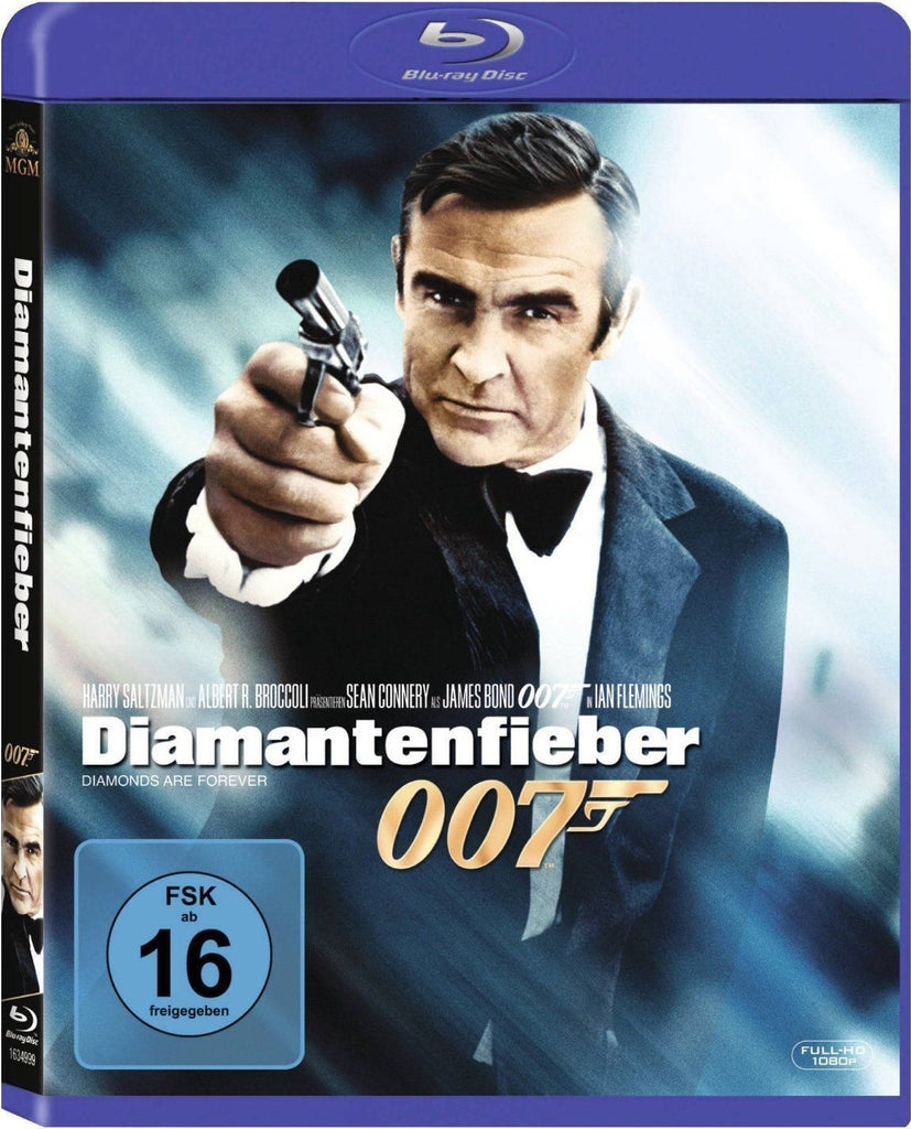 James Bond 007 : Diamonds Are Forever (1971) - Sean Connery  Blu-ray