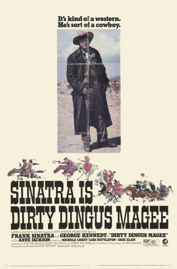 Dirty Dingus Magee (1970) - Frank Sinatra  DVD