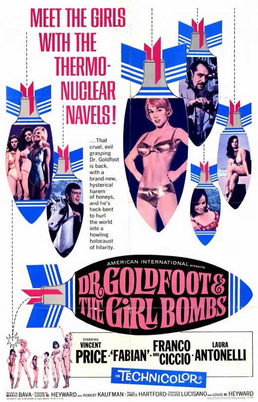 Dr. Goldfoot And The Girl Bombs (1966) - Vincent Price  DVD