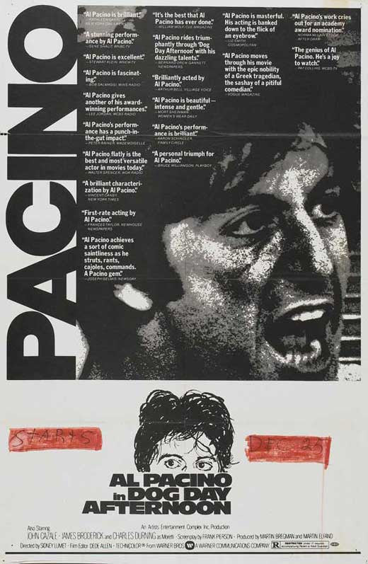 Dog Day Afternoon (1975) - Al Pacino  DVD