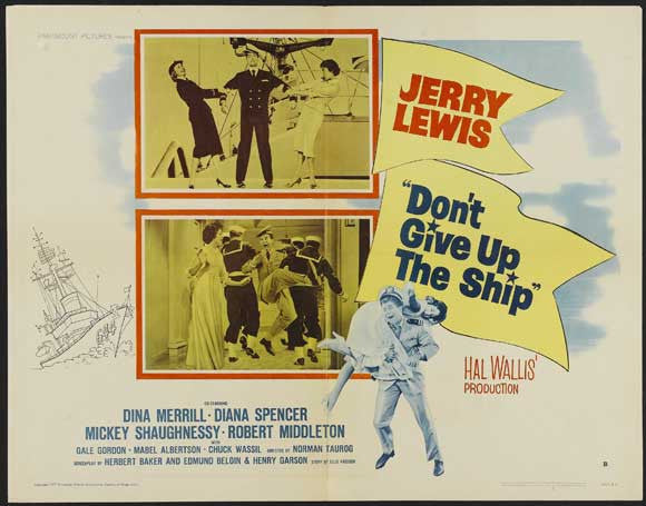 Don´t Give Up The Ship (1959) - Jerry Lewis  DVD