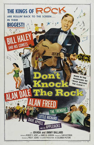 Don´t Knock The Rock (1956) - Alan Freed  DVD