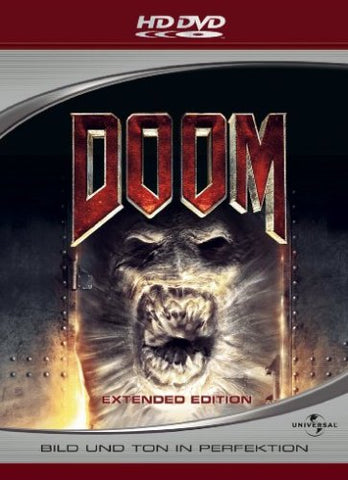 Doom : Extended Edition (2005) - Dwayne Johnson  HD DVD