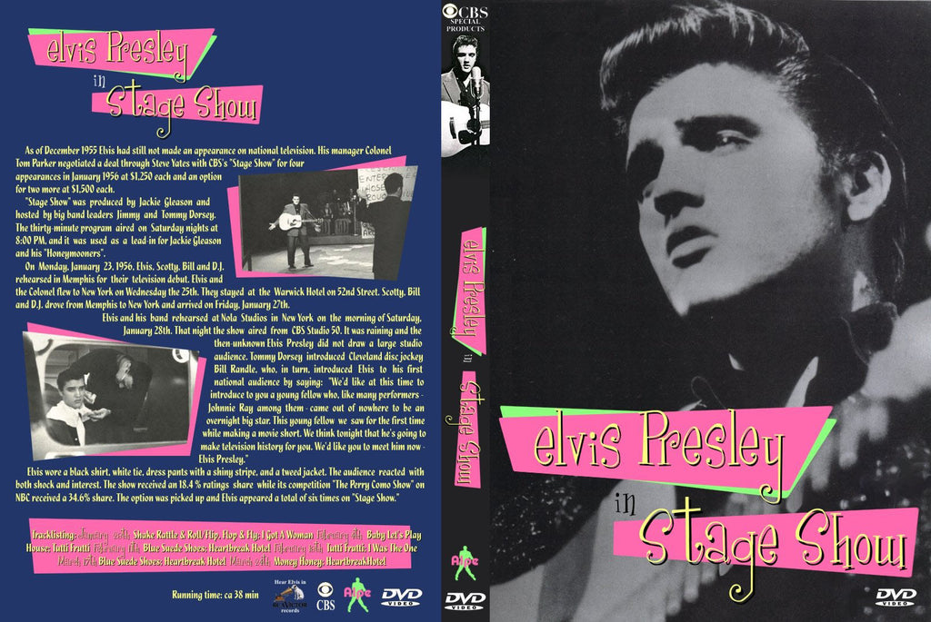 Elvis - TV Show Live Collection + BONUS  DVD