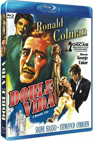 A Double Life (1947) - Ronald Colman  Blu-ray