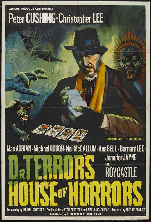 Dr. Terror´s House Of Horrors (1964) - Christopher Lee  DVD