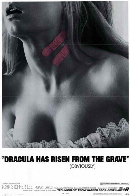 Dracula Has Risen From The Grave (1968)  DVD