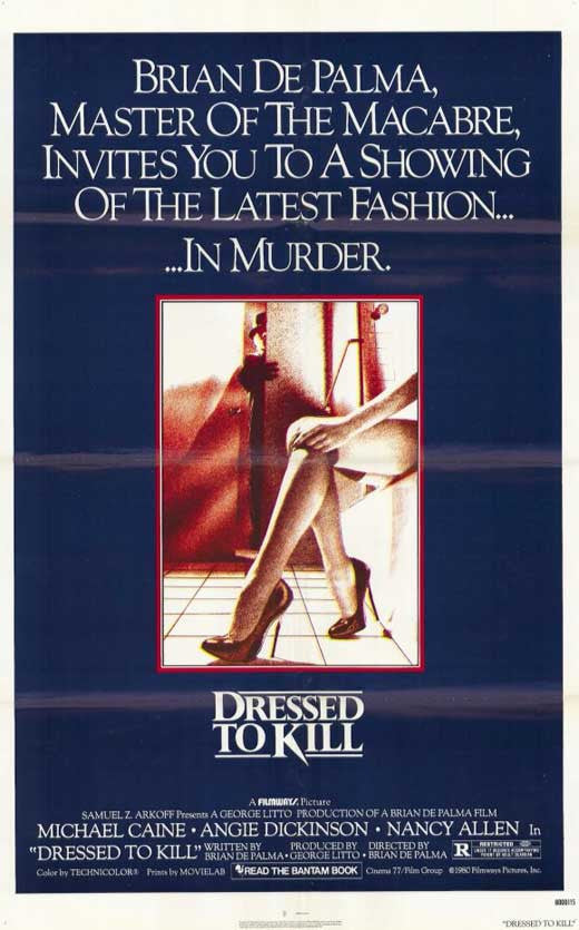 Dressed To Kill (1980) - Michael Caine  DVD