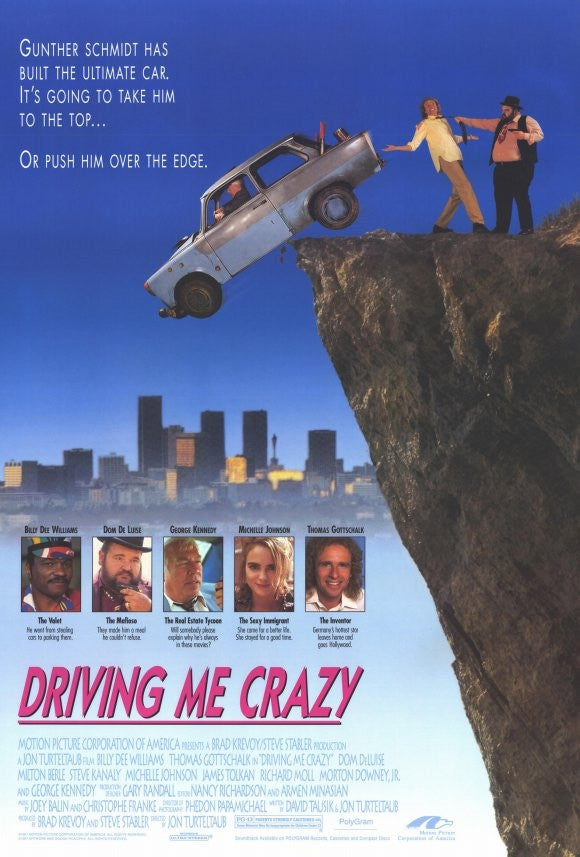 Driving Me Crazy - Trabbi Goes To Hollywood (1991)  DVD