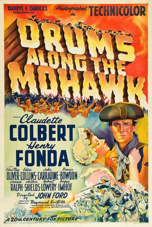 Drums Along The Mohawk (1939) - Henry Fonda  DVD