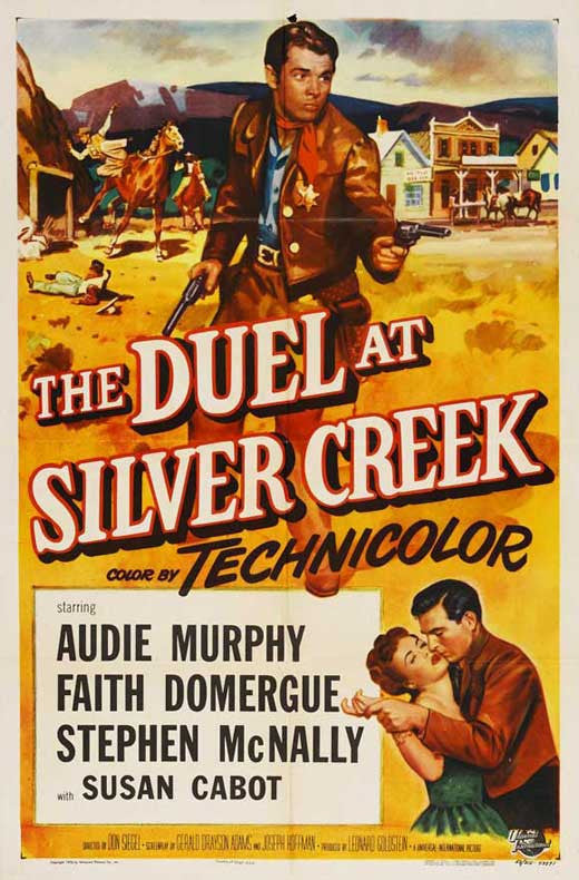 Duel At Silver Creek (1952) - Audie Murphy  DVD