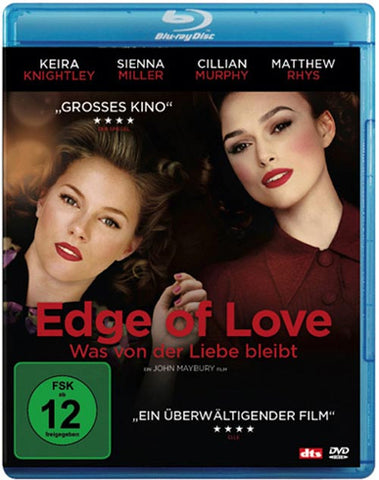 Edge Of Love (2008) - Keira Knightley  Blu-ray
