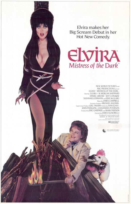 Elvira, Mistress Of The Dark (1988)  DVD