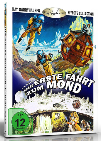 First Men In The Moon (1964) - Lionel Jeffries  Blu-ray