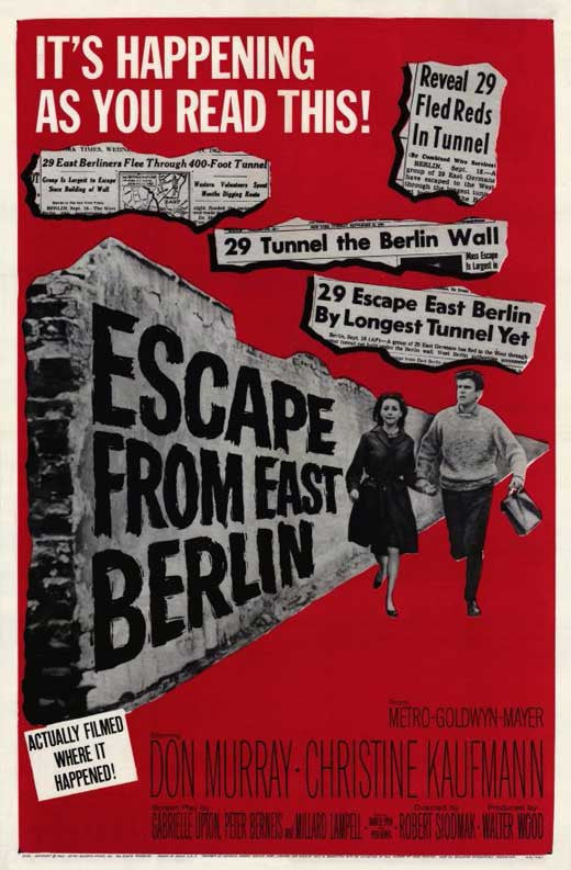 Escape From East Berlin (1962) - Robert Siodmak  DVD
