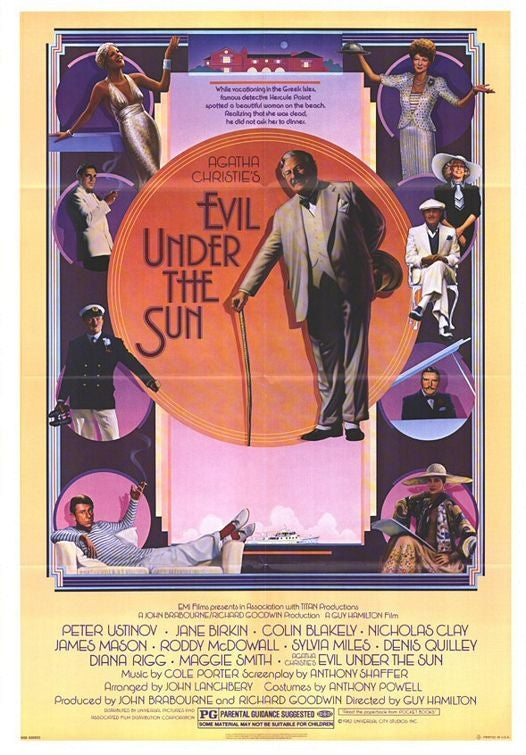 Evil Under The Sun (1982) - Peter Ustinov  DVD