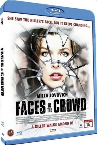 Faces In The Crowd (2011) - Milla Jovovich  Blu-ray