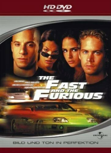 The Fast And The Furious (2001) - Vin Diesel  HD DVD