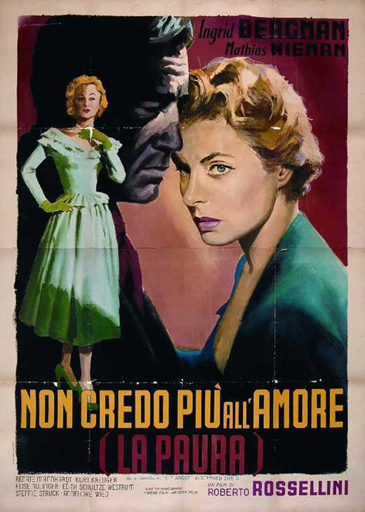Fear (1954) - Ingrid Bergman  DVD