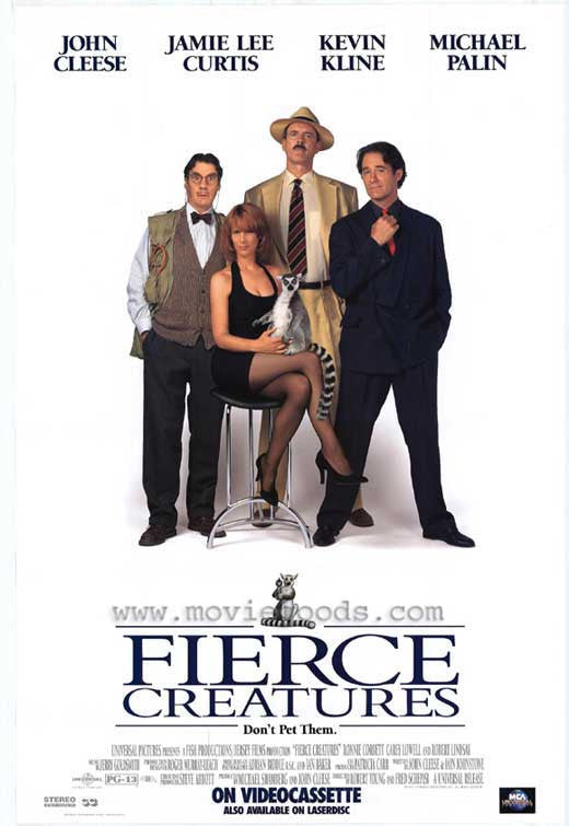 Fierce Creatures (1997) - John Cleese  DVD