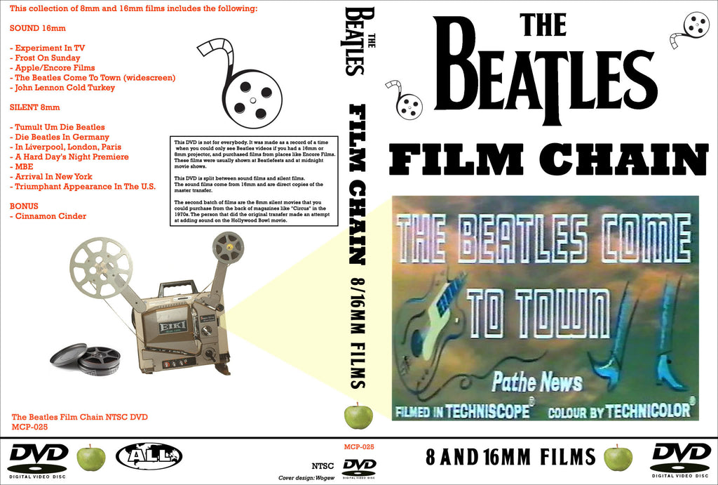 The Beatles - Film Chains DVD
