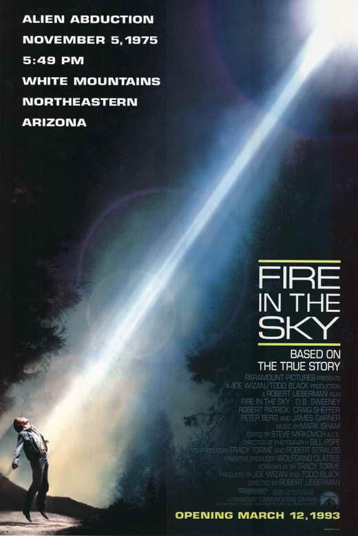 Fire In The Sky (1993) - D.B. Sweeney  DVD