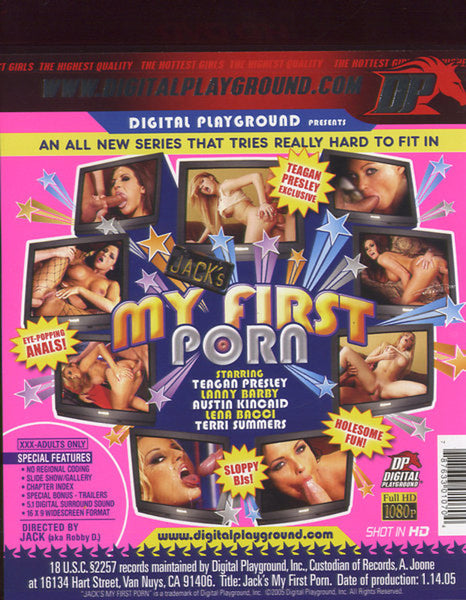 Jack´s My First Porn - Digital Playground  HD-DVD