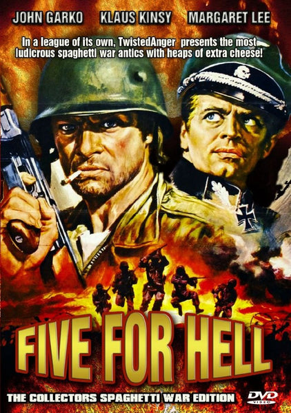 Five For Hell - 5 per l´inferno (1969) - Klaus Kinski  DVD