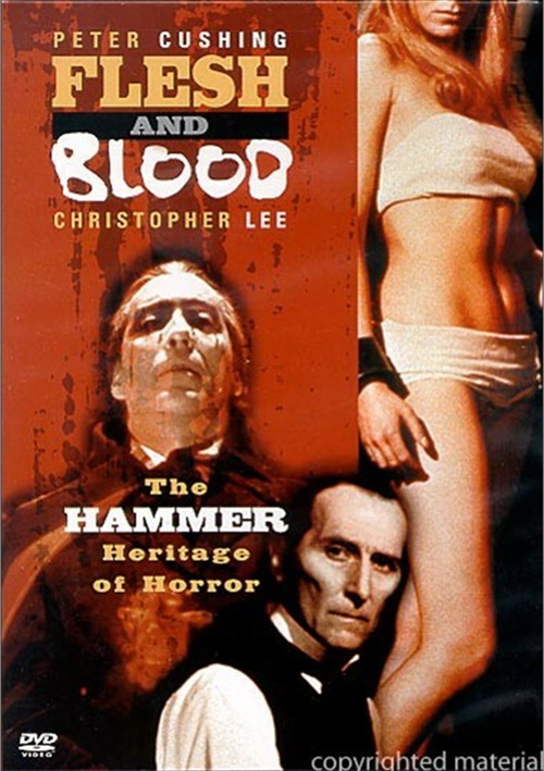 Flesh And Blood : The Hammer Heritage Of Horror  DVD