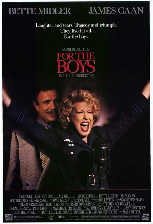 For The Boys (1991) - Bette Midler  DVD