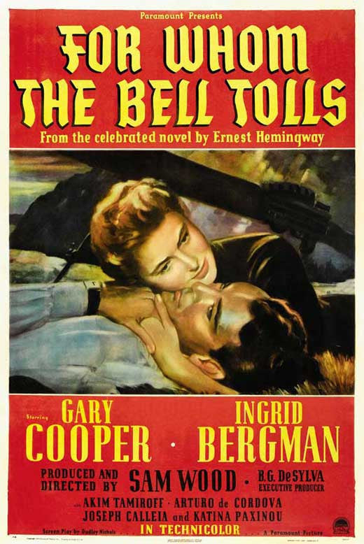 For Whom The Bell Tolls (1943) - Gary Cooper  DVD