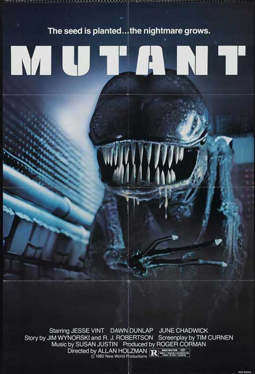 Forbidden World AKA Mutant (1982)  DVD