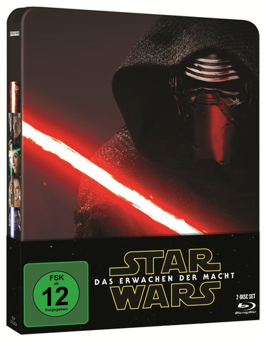 Star Wars : The Force Awakens (2015) - Limited STEELBOOK Edition. Blu-ray