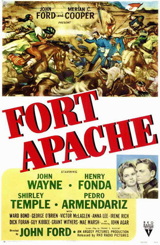 Fort Apache (1948) - John Wayne Color Version DVD